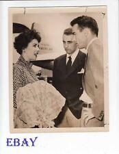Elizabeth Taylor Montgomery Clift Howard Taylor VINTAGE Photo candid 1951