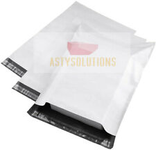 White Poly Mailers Self Sealing Bags Plastic Shipping Envelopes Size 6x9 To19x24