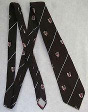 Vintage Tie Mens Necktie SHIELD CRESTED Club Association Society College CROSS