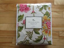 NWT POTTERY BARN KING SIZE PEONY DUVET COVER ISRAEL 100% COTTON FLORAL