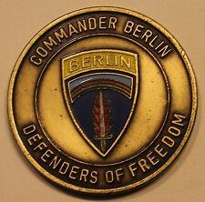 Berlin Brigade Commander Defenders of Freedom Army Challenge Coin