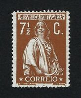 PORTUGAL 1912 CERES 7 1/2 Nº 213 MH