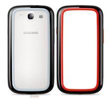 2 X Belkin Samsung Galaxy S3 i9300 Surround Bumper Case Red/Black & Black/Grey