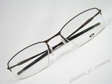 Eyeglass Frames Oakley-TRANSISTOR 22-217 Brown 54mm Titanium Glasses Occhiali