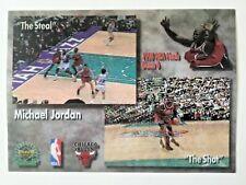 Michael Jordan, 1998-99 Upper Deck, 3-D Motion, NBA Finals, The Steal, The Shot