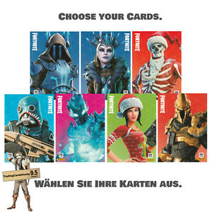 2020 Panini Fortnite Series 2 Basis / Base Cards (zum aussuchen / choose)