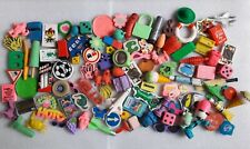 Approx 100 Vintage Novelty Erasers Collection Rubbers 1980s