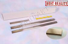 Stainless Steel Door Sill Entry Guard Covers Protectors Chevrolet Aveo 2002-/06-