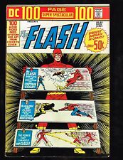 """Dc 100-Page Super Spectacular #22~All Flash/""""Three Super-Weapons!""""~1973 (6.5) Wh"""