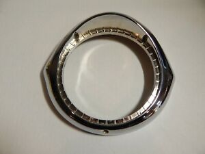 1957 Buick Century Special Roadmaster Headlight Chrome Bezel Ring