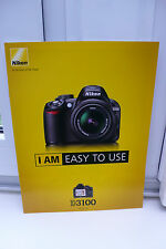 2011 nikon d3100 D 3100 Caméra prospectus photo appareil catalogue Camera brochure 2