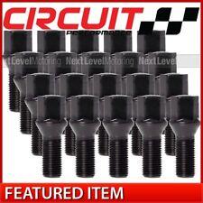 Circuit Performance Black Hex Lug Bolt 12x1.5 (2.2 Tall) - 20pc fits BMW E30