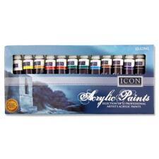 Pinturas Acrílicas gran artista Conjunto de 12 tubos de pintura profesional 12 X 12 Ml