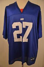 Reebok New York Giants Jersey #27 Ron Dayne Mens XL Blue NFL Football
