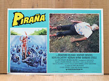 PIRANA fotobusta poster Piranha Joe Dante Kevin McCarthy Roger Corman AX24