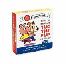 Learn to Read with Tug the Pup and Friends! Box Set 2: Levels Included: C-E My