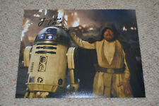JIMMY VEE signed autograph In Person 8x10 (20x25cm) STAR WARS THE LAST JEDI R2D2