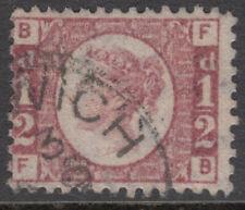 Uk - Great Britain - Sg.48 - 1/2 D.Rose-Red - 1870