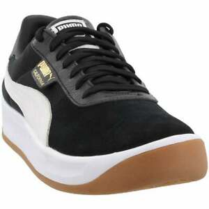Puma California  Lace Up  Mens  Sneakers Shoes Casual   - Black