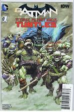 Batman Teenage Mutant Ninja Turtles TMNT #1 Neal Adams