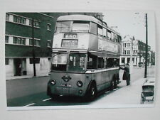 LONDON TRANSPORT TROLLEYBUS - 356  (CUL 356) - ON ROUTE 660 TO HAMMERSMITH