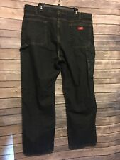 DICKIES Drk Blue Denim Carpenter/Work Jeans Men's  42x32 Relaxed Fit