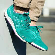 ASICS GEL LYTE  III TROPICAL GREEN MEN'S RUNNING SHOES H511L SIZE 11