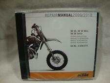 KTM service repair manual CD 2009-2010 50 SX Junior Mini 3206072