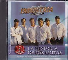 Industria del Amor La Historia de Los exitos 20 Temas New Nuevo CD