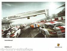 Porsche Poster 911 997 GT3  Motorsport  Reprint 2013  Größe: 60 x 80 cm