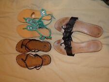 Ladies Size 8 Sandals (Lot of 3)