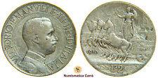[NC] VITTORIO EMANUELE III - SAVOIA -  2 LIRE 1910 - RARA  (nc1739)