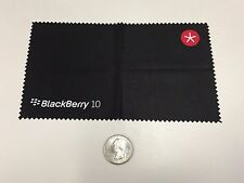 BlackBerry (RIM) Logo EXCLUSIVE BlackBerry 10 Cleaning Cloth (BLACK) *Promo*SWAG