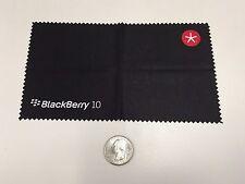"BlackBerry (RIM) Logo ""BlackBerry 10"" ""SPARK"" Cleaning Cloth (BLACK) *Promo*SWAG"