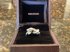 Boucheron Diamond Collection Snake Ring 18CT White Gold