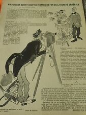Le Photographe attention le petit oiseau va sortir  Humour Print 1934