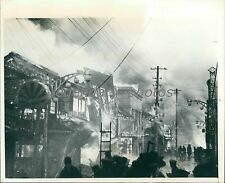 1945 Tokyo Street During Earthquake Disaster of 1923 Original News Service Photo