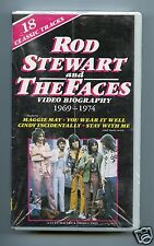 Rod Stewart and The Faces/Video Biography 1969-1974 (JapanVHS Video Tape)