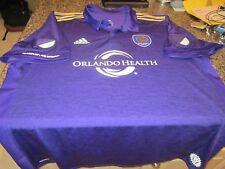 Orlando City Soccer Adidas Game Jersey - MLS - Purple - 2XL