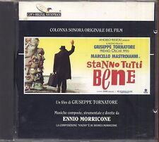 ENNIO MORRICONE - Stanno tutti bene - CD OST 1990 COME NUOVO