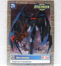 DIGIMON TRADING CARDS - DEVIMON 30/34 - CARTE UFFICIALI SERIE TV-1a SERIE