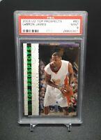 2003-04 Upper Deck  LeBron James Rookie PSA 9 Gem Mint Investment 📈