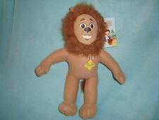 "Wizard of Oz Cowardly Lion Plush Toy Factory 14"" tall with tags"