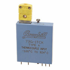 Grayhill Thermocouple Analog Input Module, P/N 73G-ITCK