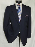 LANVIN PARIS Men's Vintage Blue 2 button patch pockets sports jacket coat 42 R