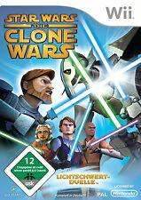 Star Wars: The Clone Wars - Lichtschwert-Duelle (Nintendo Wii, 2008, DVD-Box)