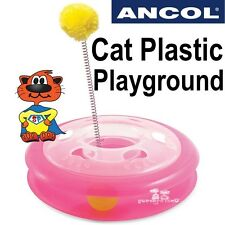 Ancol chat plastique playground acti chat chaton pet ball toy