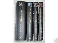 HARRY POTTER 4 Adult HARDBACK Rare First  Edition 1st Print Books UK Bloomsbury.