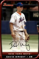 2008 Bowman Baseball #150 David Wright New York Mets