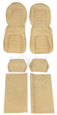 Alfa Romeo Spider Tan Seat Covers Set 1978-84 New